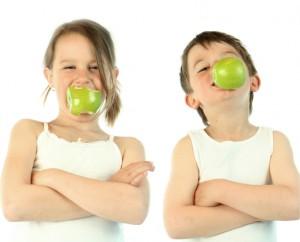 Kinder und Vitamine